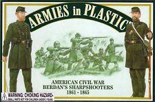 Armies in Plastic Civil War 1st U.S. Sharpshooters (Berdan's) 1/32 Scale 54mm