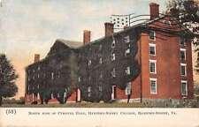 Hampden-Sidney College Virginia north side Cushing Hall antique pc Z19806