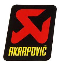 Akrapovic Auspuff Aufkleber Hitzebeständig 75mm KTM LC4 EXC SXC SX