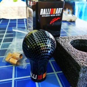 Ralliart Carbon Look Versnellingsbak Pookknop Voor Mitsubishi