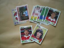 PANINI EUROPEAN FOOTBALL CHAMPIONSHIP '96 STICKERS, COLLECTION OF 15 STICKERS