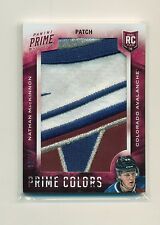 NATHAN MACKINNON 2013-14 PANINI PRIME COLORS HOCKEY 5 CLR LOGO PATCH #30/33 WOW