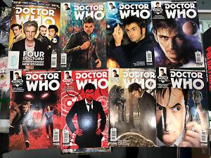 DOCTOR WHO 10TH DOCTOR (2015) Comic Set! Titan Comics David Tennant!