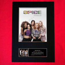 Spice Girls Pop Music Autographs