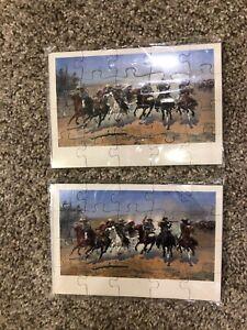 Vintage Sealed Amon Carter Museum Puzzlegram Puzzle Postcard NEW