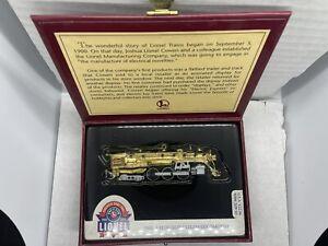Hallmark Lionel 100th Anniversary Train Ornament Hudson Steam Locomotive In Box