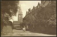 Hampshire. New Forest. King's House & Church, Lyndhurst Vintage RPPC by Sweetman