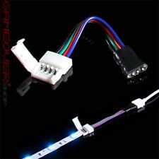 LED SMD RGB Schnell Verbinder Kabel Adapter 4 Pin Stecker für Strip Controller