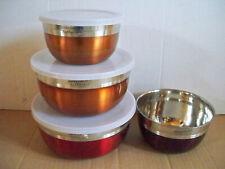 Edelstahl-Schüssel-Set 7 teilig Indian Summer  Impressionen tableware