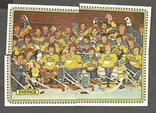 1979 Panini World Hockey 79, Team Sweden, Set of 23, Canucks Training Camp