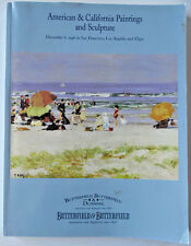 Butterfield Auction American & California Paintings and Sculpture Dec 8, 1998