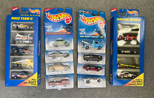 Lot of 10 1996 Hot Wheels (8 Cars & Two 5 Pc. Set) Nib Good Condition