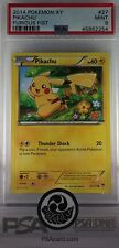 2014 Pokémon TCG XY Furious Fist #27 Pikachu Graded PSA 9 MINT