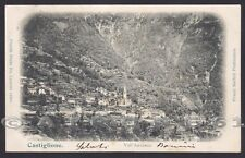 VERBANIA CALASCA 09 CASTIGLIONE - OSSOLA - ANZASCA Cartolina viaggiata 1903