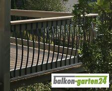 Alu Balkongeländer Stab, alternativ zu Balkonbretter aus Holz, Geländer