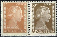 Argentina First Lady Eva Peron Evita stamps 1952 MNH