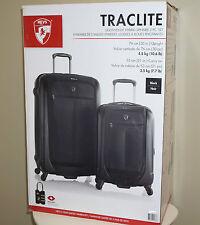 "Heys Traclite 2-PC Set 4-Wheel Lightweigh Hybrid Spinner Luggage 30"" 21"" Upright"
