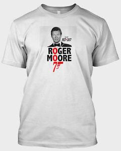 Roger-Moore-T-Shirt-RIP-Tribute-to-James-Bond-007-Golden Eye-Jaws-TV-Film