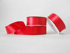 Nastro doppio raso 40 mm rotolo bobina da 50 mt Rosso fai da te - art D4016