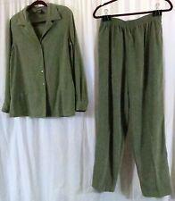 Allison Daley 12 Green Pant Suit Long Sleeve