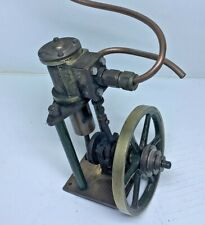 Vintage Single Cylinder Vertical Oscillating Steam Engine