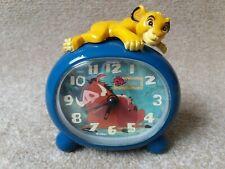 More details for lion king alarm clock - simba + pumba- vintage 1994 - disney - fantasma