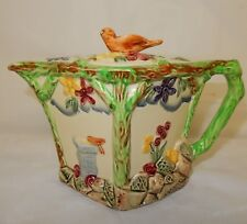 Rare Wadeheath Art Deco Teapot Bird Finial
