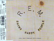 R.E.M. : SHINY HAPPY PEOPLE / 3 TRACK-CD (2 RARE TRACKS) - NEUWERTIG
