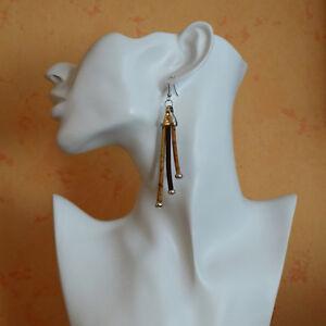 Kork Ohrhänger Ohrringe Cork #1 Korkschmuck, jedes Stück ein Unikat