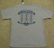 Indianapolis Colts NFL Super Bowl XLI 41 Roster T Shirt Jersey NEW Men L Large
