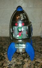 Marvin Martian Space Ship ROCKET Digital Alarm Clock Warner Bros FANTASMA 2000