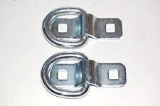 2x Anhänger Spannbügel Verzurrösen Zurrösen Zurrbügel Spanngurte D-Ring Ø10mm