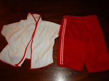 """White Red Shirt w/ Pants 16-18"""" Cpk Cabbage Patch Kids"""