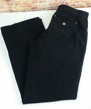 Fashion Bug Womens Size 12 Black Jeans Mid Rise Boot Cut   I52