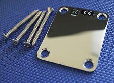 Estados unidos Fender Stratocaster Strat Chrome neck plate Stratocaster American Special