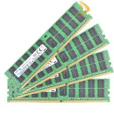 Samsung 4x 16GB 2RX4 PC4-2133P DDR4 2133Mhz PC4-17000 ECC REG Server Memory RAM