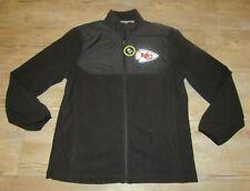 Kansas City Chiefs Full Zipper Micro Fleece Jacket men's size Large