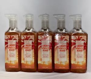 5  Cherry Vanilla Float Deep Cleansing  Hand Soap Bath & Body Works 8 fl oz