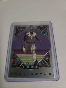 1993 DONRUSS ELITE SERIES INSERT  TONY GWYNN 02672/10000