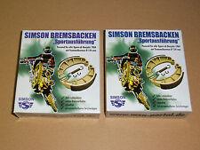 Bremsbacken Set Sport Bremsen 4 Stück für Simson S51 S50  KR51 Schwalbe SR50