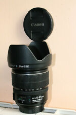 Zoom Canon EFS 15-85 mm IS USM + filtre polarisant 72 mm