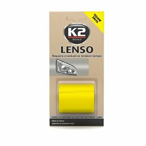 K2 B341 Orange Repairs cracked or broken lens LENSO 48mm x 1,52m