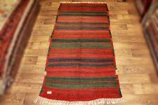 Handgewebter Kelim 139x285 cm Orientteppich Nomadenteppich Nomadenkelim NEU
