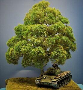 Diorama Zubehör, 1 Modellbaum Buche Sommer, 40 cm hoch