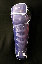 Nike Pro 16 Gold Precision Catcher's Safey Gear Purple- Leg Guards