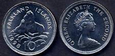 FALKLAND ISLANDS 10 pence 1998 Ursine UNC