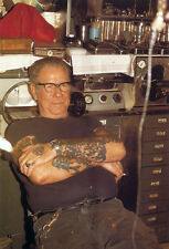 "Sailor Jerry Norman Collins Tattoo Art 13  x 19"" Photo Print"