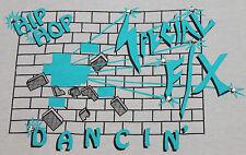 S * vtg 80s Hip Hop Special F/X Dance bedazzled t shirt * 27.69