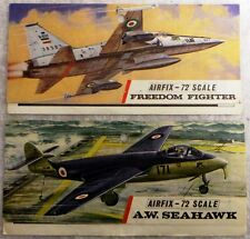 AIRFIX PACKAGING HEADERS : FREEDOM FIGHTER, A.W. SEAHAWK