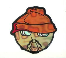 """Homies Gangster Beanie Lowrider Character Sticker Decal 3"""" Vintage Rare"""